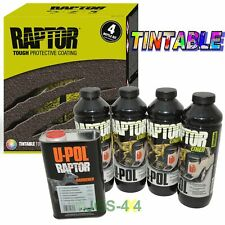 UPOL TINTABLE RAPTOR Liner Paint Ultra Tough Urethane Spray On Coating - RLT/S4