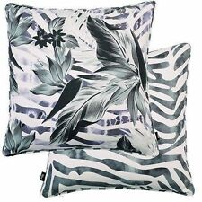 Cotton Blend Tropical Square Decorative Cushions & Pillows