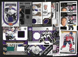 LOS ANGELES KINGS AUTOGRAPH JERSEY NHL HOCKEY CARD SEE LIST