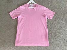 Comme des Garcons SHIRT Logo T shirt Pink Large RRP £55