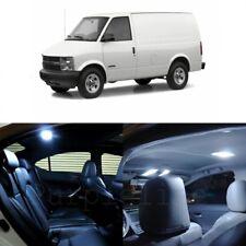 14 x White LED Interior Light Kit For 1995 - 2005 Chevrolet Chevy Astro + TOOL
