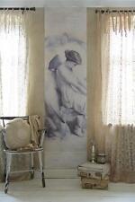 Jeanne d'Arc Living Poster Bannière tombent ANGE ANGEL 60x275cm Shabby Vintage Neuf