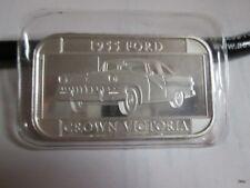 1955 Ford Crown Victoria 1 Oz. .999 Fine Silver  Bar