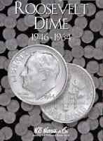 Roosevelt Dimes Coin Folder Album #1 1946-1964 by H.E. Harris