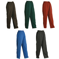 UNISEX WARM UP PANTS WITH BREATHABLE LINING - Winter Tracksuit Track Mens Womens