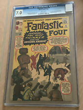 FANTASTIC FOUR #15 CGC 7.0 White Pages 1st Appearance of the Mad Thinker