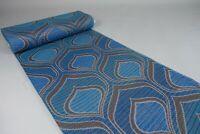 13,6m 70er Vintage Stoff Gardine Stoffballen Meterware Dekostoff Fabric 60s NOS