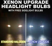 VOLKSWAGEN GOLF MK4 MK5 MK6 EOS XENON ICE BLUE HEADLIGHT DIP BEAM BULBS H7