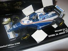 1:43 Williams Renault FW15 D. Hill Estoriltest 1994 Minichamps 430940101 OVP NEU