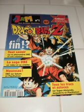 MAGAZINE JAM N°1 - SPECIAL DRAGON BALL Z - RARE !