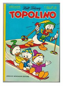 Topolino n. 740 Mickey Mouse Comics 1970