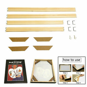 Professional Canvas Stretcher Bars Frames Wooden Strip Kits for Painting Art hot