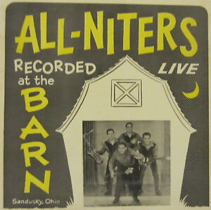 ALL-NITERS (Live At The Barn) ALBUMS/LP'S.>ROCK RPM  RECORD