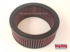 Big Dog Motorcycles Air Filter for S&S Carb- E/G Teardrop (2000-2018)