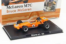 Bruce McLaren McLaren m7c #4 formule 1 1969 1:43 ALTAYA