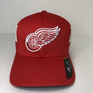 NEW Detroit Red Wings Hat Adidas Small Medium NHL Hockey Red White Men