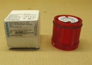 1 NIB SIEMENS 8WD4420-5BB 8WD44205BB STACK LIGHT RED LED 24V AC/DC 24 VOLT