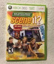 Scene It Box Office Smash (Microsoft Xbox 360, 2008)  .. CLEAN  TESTED