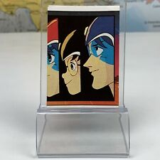 SHIPS SAME DAY Voltron #3 Mini Picture Card Sticker Figurine Panini 1984 Rare