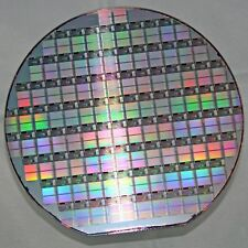 """6"""" Silicon Wafer Dallas Semiconductor DS9106 Decoder Ring 1-wire EEPROM memory"""