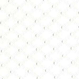 "Michael Miller LATTICE EYELET 100%COTTON EMBROIDER FABRIC 54""WIDE FQ ET6345WHITE"