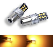 2 Light Bulbs LED Can Bus P21W, 1156, BAU15S Orange, Amber, Intermitente. 78 SMD
