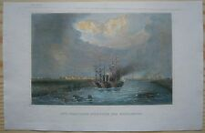 1856 Meyer print MISSISSIPPI DELTA AT NEW ORLEANS, LOUISIANA (#13)