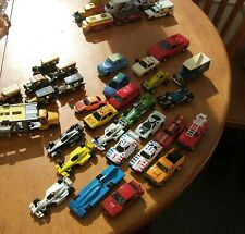 COLLECTION OF TOY CARS AND VEHICLES ( 36 ) MATCHBOX, HOTWHEELS, CORGI & OTHERS