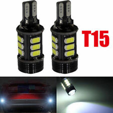 10PCS T15 360 5050SMD 12SMD 921 912 W16W LED Backup Reverse Lights Car Led White
