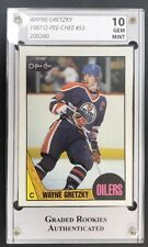 WAYNE GRETZKY 1987 O-PEE-CHEE #53 GRADED GEM MINT 10!