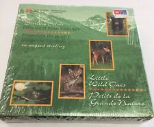 Sealed 1996 Canada's Little Wild ones Sterling Silver Four 4 COIN SET 50 cents