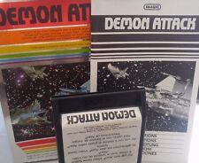 Demon Attack Atari VCS 2600 (Modul, Anleitung, Verpackung)