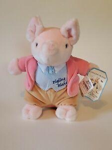 "EDEN BEATRIX POTTER PIGLING BLAND 9"" INCH PINK PIG PLUSH with original tag"