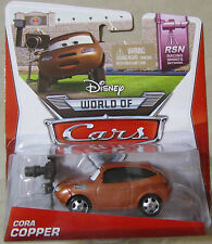 Disney Pixar Cars 2 RACING SPORTS NETWORK CORA COPPER~Disney World of Cars