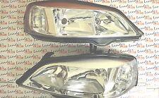 Vauxhall Astra G Mk4 Par De Faros Faros-Cromo Estilo-Nuevo