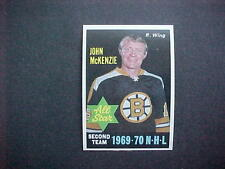 1970-71  OPC  HOCKEY  #241  MCKENZIE   MINT