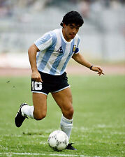 Maradona 1986 World Cup - 8x10 Color Action Photo