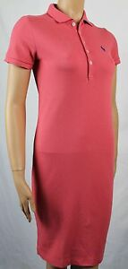 Ralph Lauren Small S RED POLO DRESS BLUE PONY NWT