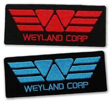 """PROMETHEUS """"Weyland Corp"""" Red & Blue - Uniform Patch Set- ALIEN / ALIENS"""