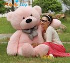 GIANT 63'' BIG PLUSH Pink TEDDY BEAR HUGE STUFFED ANIMAL SOFT TOY BIRTHDAY GIFTS