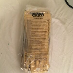 MAPA AdvanTech 517 Size 8 Cleanroom Gloves 12 pairs 517318 New Sealed Free Ship