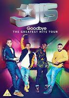 JLS Goodbye The Greatest Hits Tour REGIÓN 2&4 PAL DVD Nuevo/Sin Reproducir