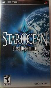 PSP GAME-Star Ocean  First Departure-2008 -Original Case and Game Book. Rated T