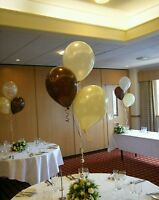 Any Occasion Helium Balloon Kit  for 5 tables - Save Money D-I-Y 18 - 21st  - 30