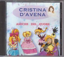 """CD CRISTINA D'AVENA """" AMICHE DEL CUORE """" COLLANA ECOPOP 1999 SAILOR MOON Sigle"""