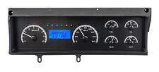 70-72 Chevelle Malibu El Camino Dakota Digital Black Alloy & Blue VHX Gauge Kit