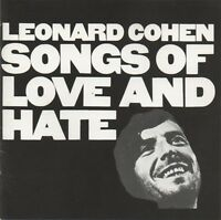 Leonard Cohen ‎CD Songs Of Love And Hate - Europe (EX/VG+)