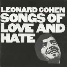Leonard Cohen CD Songs Of Love And Hate - Europe (EX/VG+)
