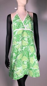 Lilly Pulitzer Lilly Pad Frog Summer Sundress 1990's