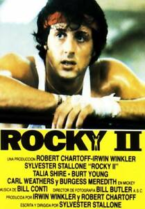 Rocky 2 35mm Film Cell strip very Rare var_e